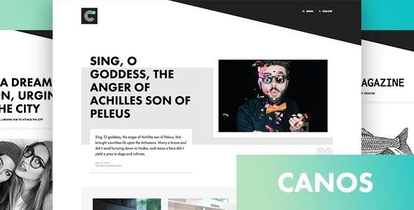 Canos v1.2 – A Creative WordPress Blog Theme - http://www.freescriptz.co.uk/canos-v1-2-a-creative-wordpress-blog-theme/ #Blog, #Canos, #Creative, #Theme, #Wordpress