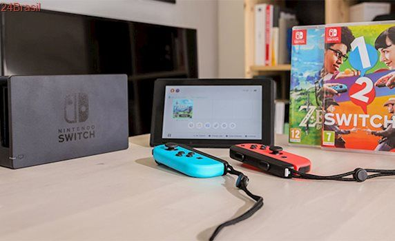Nintendo Switch é o console que vendeu mais rápido na história da empresa