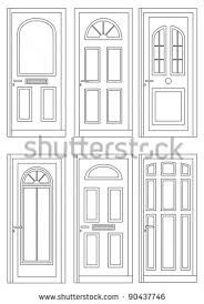 Image result for window and door exterior drawing illustration