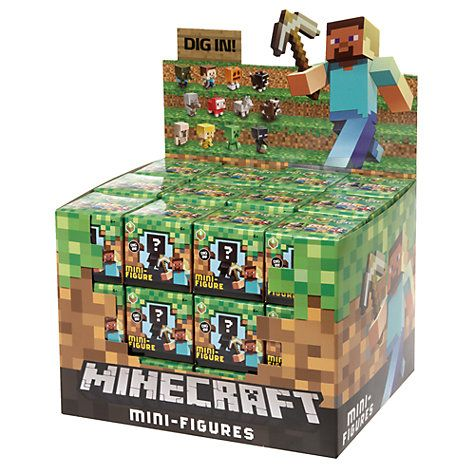 Buy Minecraft Mini-Figures Blind Bag, Assorted Online at johnlewis.com