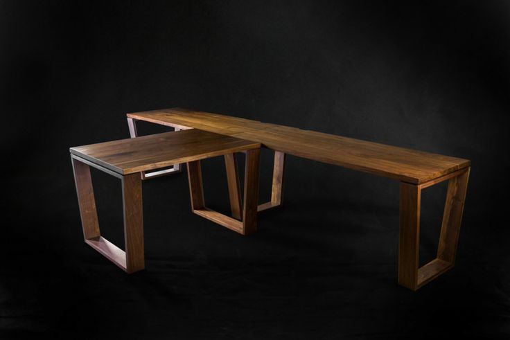 Wantok Walnut Desk - elegant simplicity at its best. #makimakifurniture #makimaki #brisbanemade #makimakihandmade #wantokwalnut
