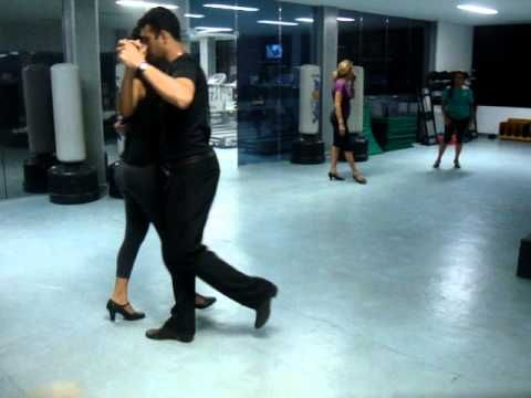 ▶ Professor Sidney passos de Bolero nivel intermediario - YouTube