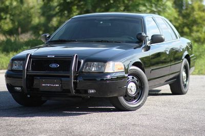 2006 Ford Crown Victoria Police Interceptor Nightstalker Carbon Fiber Edition