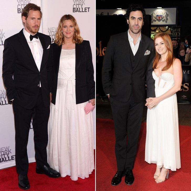 Pin for Later: Stars Who Have Kids With the Same Name Olive Drew Barrymore gave birth to Olive in September 2012, while Isla Fisher and Sacha Baron Cohen welcomed an Olive of their own in October 2007.
