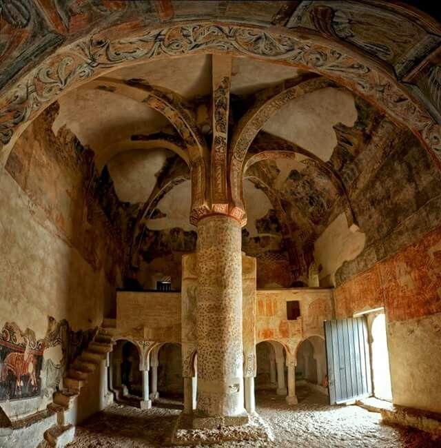 Ermita mozárabe de San Baudelio de Berlanga (Soria)
