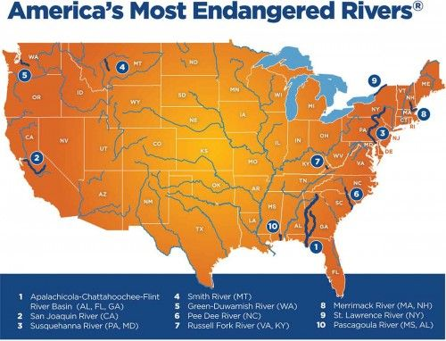 New Report Of America's Most Threatened Rivers