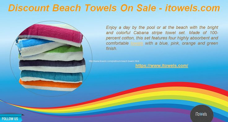 https://flic.kr/p/JQ4MpJ | Discount Beach Towels On Sale - itowels | Visit us  : www.itowels.com   Follow US : www.facebook.com/itowels   Call Us (866) 254-8383 for more info about our products. 14621