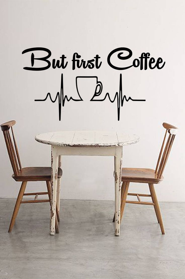 Best 25 kitchen wall stickers ideas on pinterest dining room but first coffee wall decal welcome sticker coffee vinyl sticker kitchen wall decals amipublicfo Images