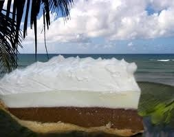 Chocolate Haupia Pie......It's not from Ted's Bakery on Oahu's North Shore, but close.
