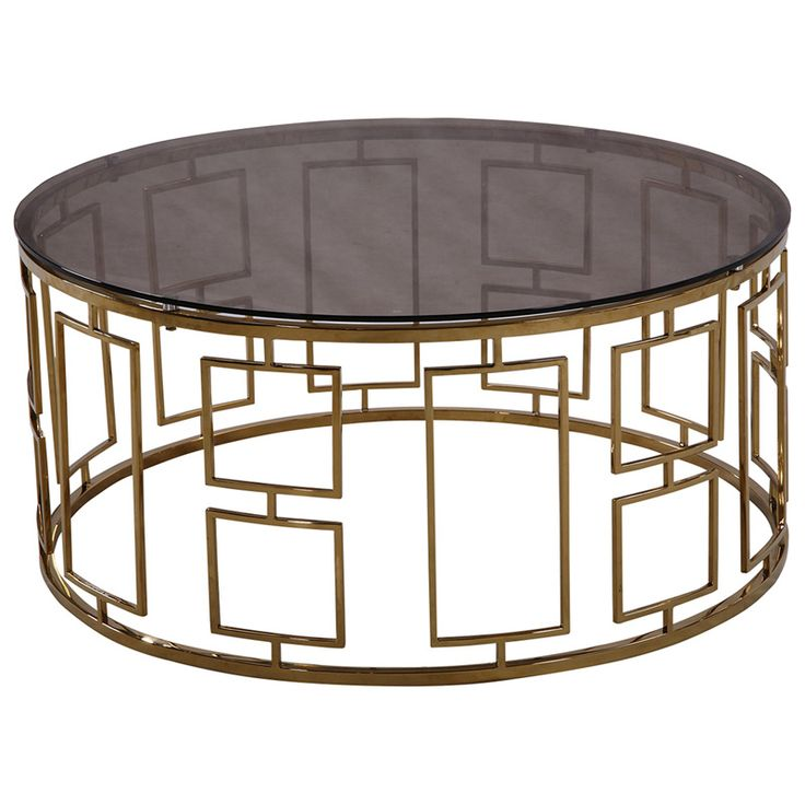 Zinc Contemporary Coffee Table