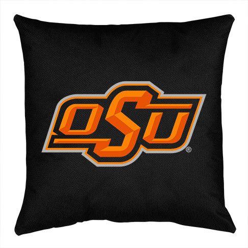 Oklahoma State Cowboys Locker Room Decorative Pillow