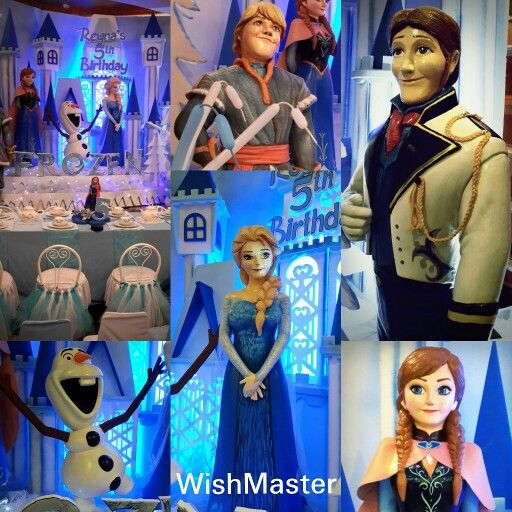 Reyna's 5th Birthday party at Queen's Sunlake Hotel, Jakarta, Indonesia. #wishmaster_eo #birthday #party #frozen #decoration
