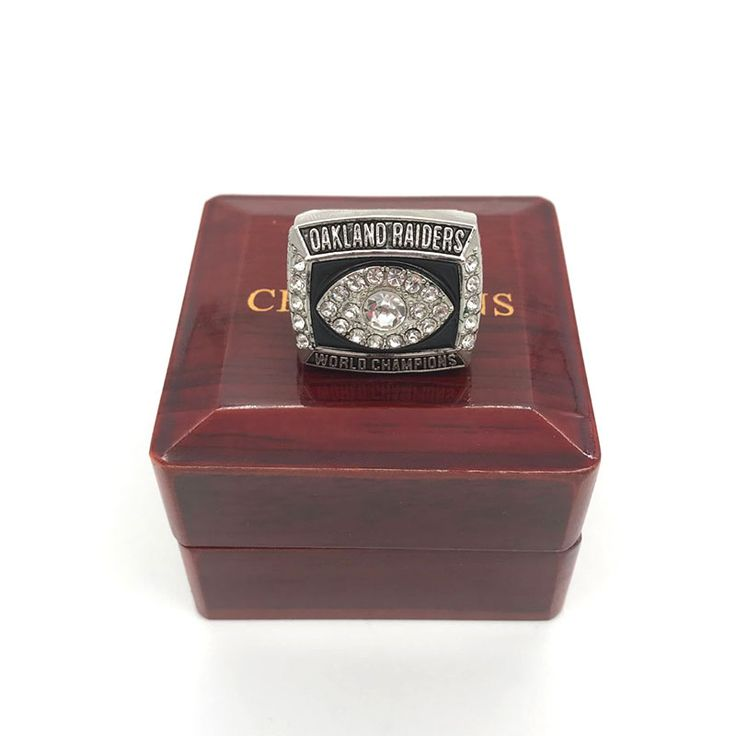 1976 Oakland Raiders Super Bowl world championship rings replica solid ring drop shipping for fans as Christmas gift  Price: 5.51 USD