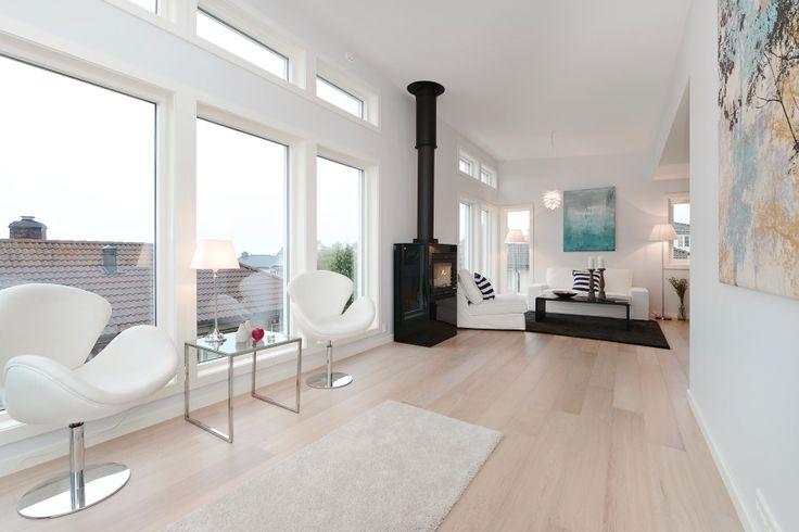IEC-HUS Nora: Interiør og stue