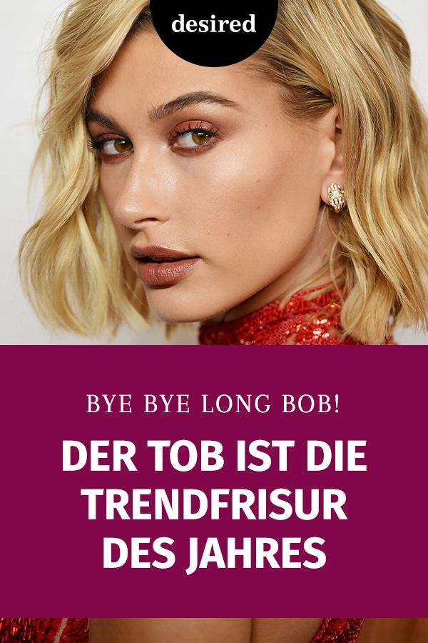 Der Tob Ist Die Trendfrisur Des Jahres Trendfrisuren Frisuren Locken Machen