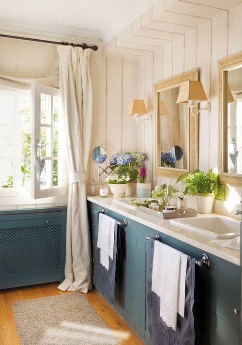 5 * All Bathrooms  Shabby and Charme: Ancora tante idee per la stanza da bagno