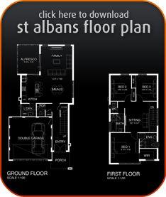 St Albans Brochure & Floor Plan perthhomebuilders.net.au