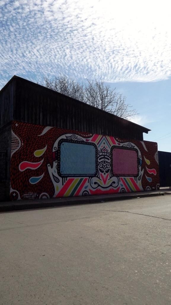 STREET ART 2012, EN CALLE GUILLERMO BERRÍOS, #GRANEROS.
