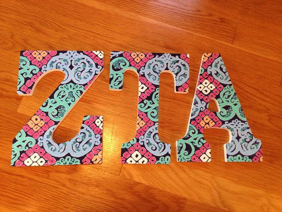 lilly pulitzer behind the gate printed zta sorority letters 40