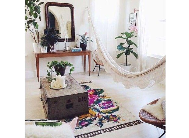 Decoracao Sala Hippie Chic ~  Sala Hippie no Pinterest  Quarto hippie, Quarto hippie e Quartos