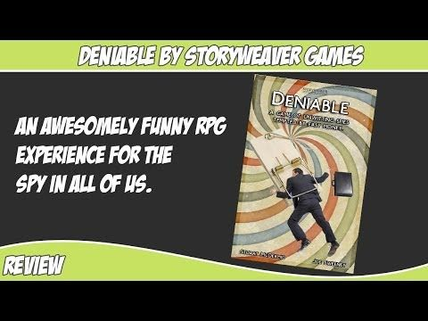 Deniable an awesomely fun RPG from Storyweaver Games