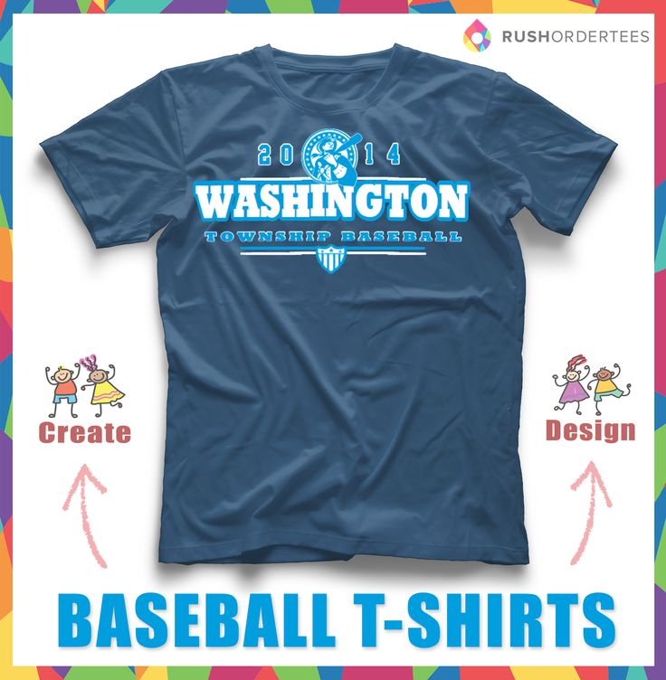 township baseball custom t shirt design look and feel great with a custom t