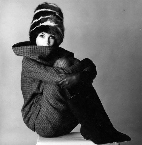 Jean Shrimpton photo David Bailey 1963