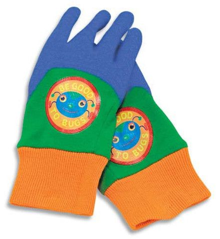 Melissa & Doug Be Good To Bugs Kid's Gardening Gloves - Liz Ann's Interior Design Boutique http://lizann.myshopify.com/collections/for-kids/products/melissa-doug-be-good-to-bugs-kids-gardening-gloves
