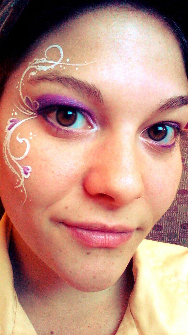 Elegant eye design  Face painting and body art  Pinterest  Mardi gras, We and Picnics