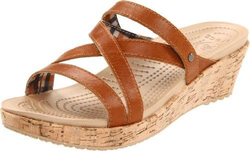 Crocs Women's A-Leigh Mini Wedge Sandal,Cocoa,6 M US crocs,http://www.amazon.com/dp/B005CMR2TI/ref=cm_sw_r_pi_dp_5Or.rb117SD1CR9Y