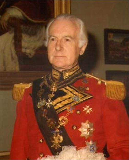His Excellency Quintin Jermy Gwyn, Grand Chancellor of the Sovereign and Military Order of Malta