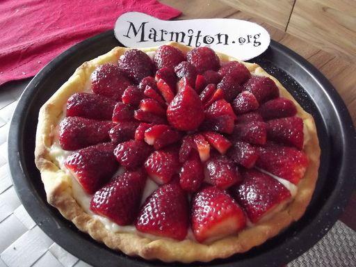 Gateau aux fraises facile marmiton