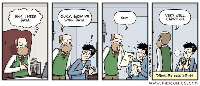 PHD Comics: Drive by http://phdcomics.com/comics.php?f=1940