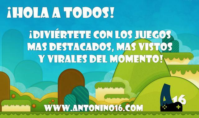 Obtener el Juegos online gratis!! Aventura juegos de accion,juegos puzzle, juegos de deporte, juegos de habilidad & carreras juegos para niños en Antonio16 Juegos. Visitar: http://www.antonino16.com/