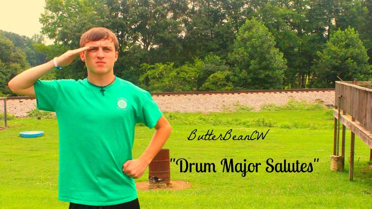 Awesome Funky Drum Major Salute Ideas