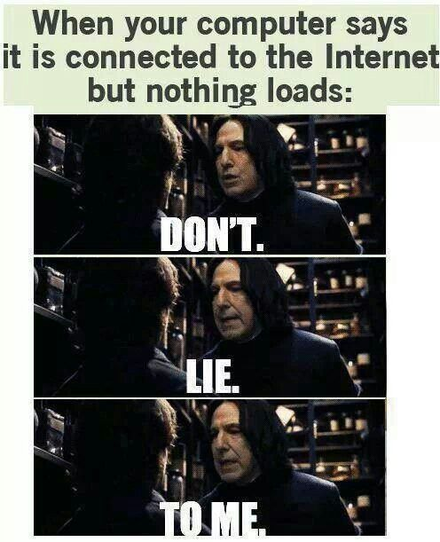 When you read this you heard Snape's voice didn't you? Admit you did and if you say you didn't you're lying