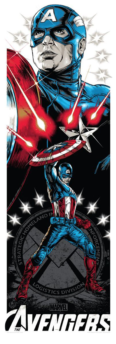 Awesome Avengers art by Rhys Cooper  ღ♥Please feel free to repin ♥ღ www.unocollectibles.com