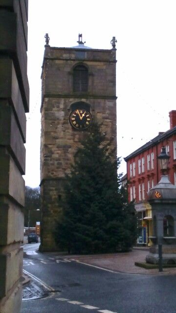 Morpeth Town clock, Morpeth Northumberland