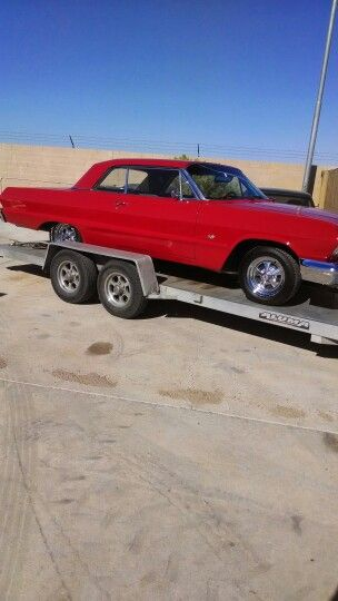 My '63 Impala...for sale or trade for '35-40 Ford pickup of equal value.. $27k.