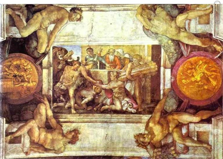 The Sacrifice of Noah by Michelangelo