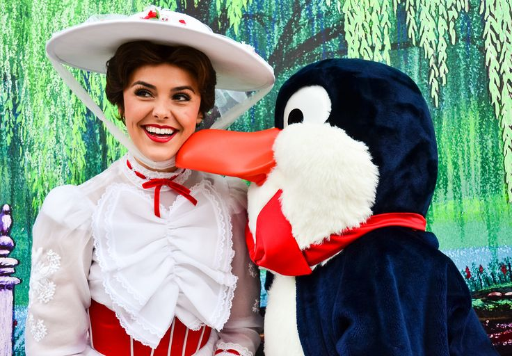 Mary Poppins and Mr. Penguin