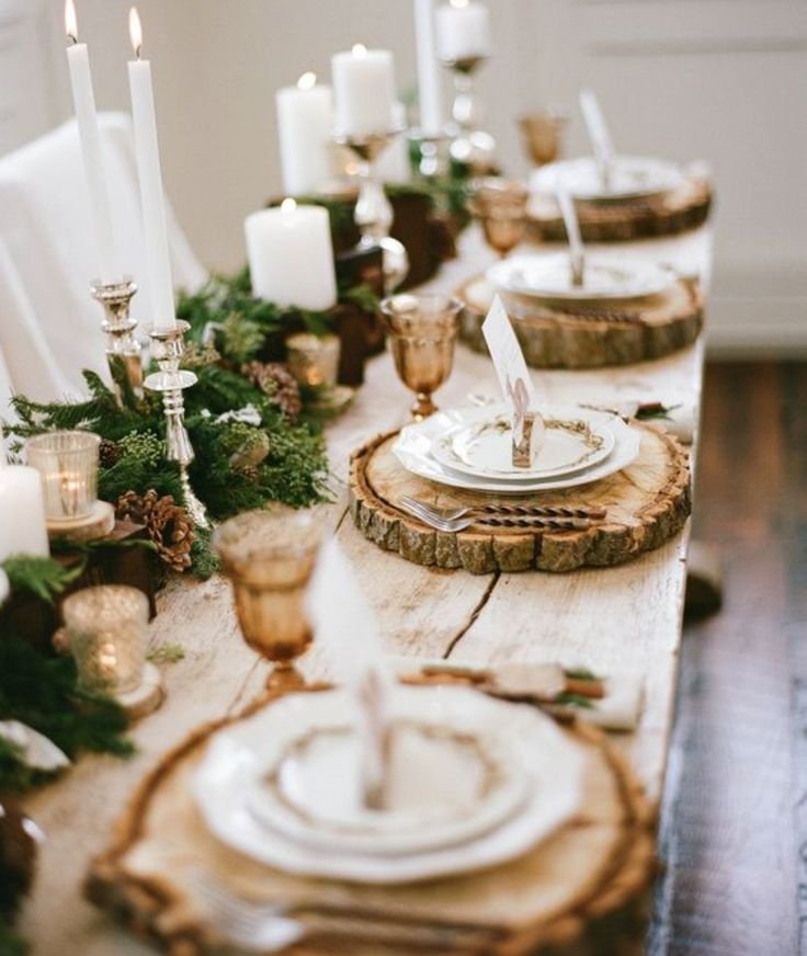 Woodsy Wedding Ideas!