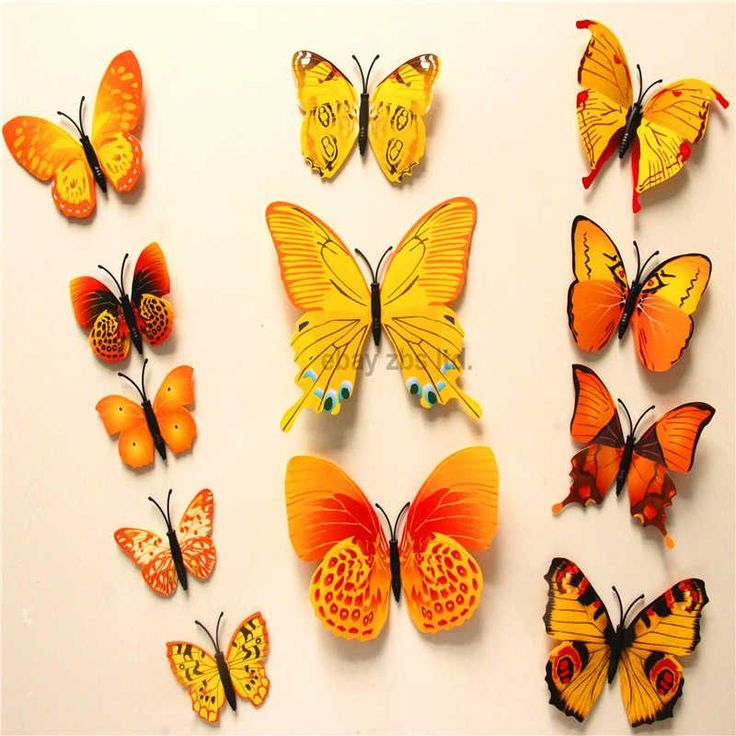 Best Products Images On Pinterest Child Room Kid Friendly - Butterfly wall decals 3dpvc d diy butterfly wall stickers home decor poster for kitchen