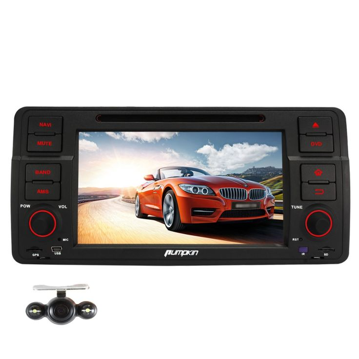 ==> [Free Shipping] Buy Best Pumpkin Android 5.1 Quad Core 7 Inch Car DVD Player For BMW E46 M3 Canbus TV DAB GPS Navigation Car Stereo Radio  Camera Online with LOWEST Price | 32605241075
