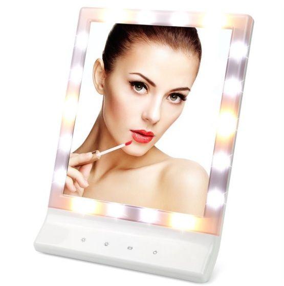 LED Makeup Mirror - 20 Best Bathroom Accessories