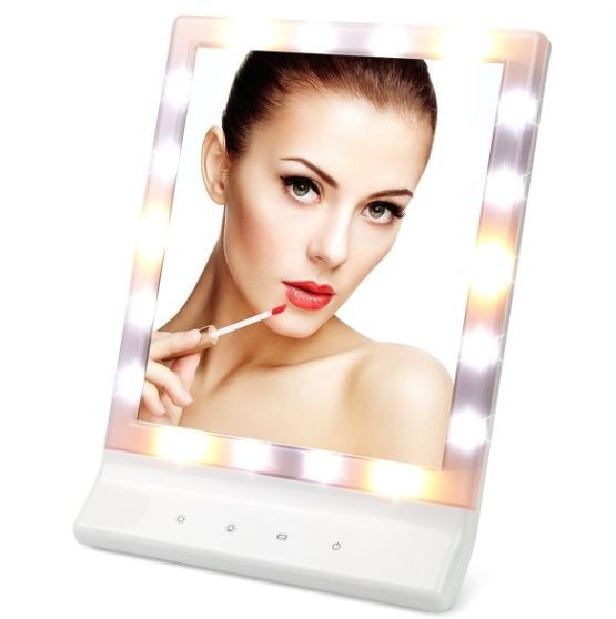 LED Makeup Mirror - 20 Best Bathroom Accessories