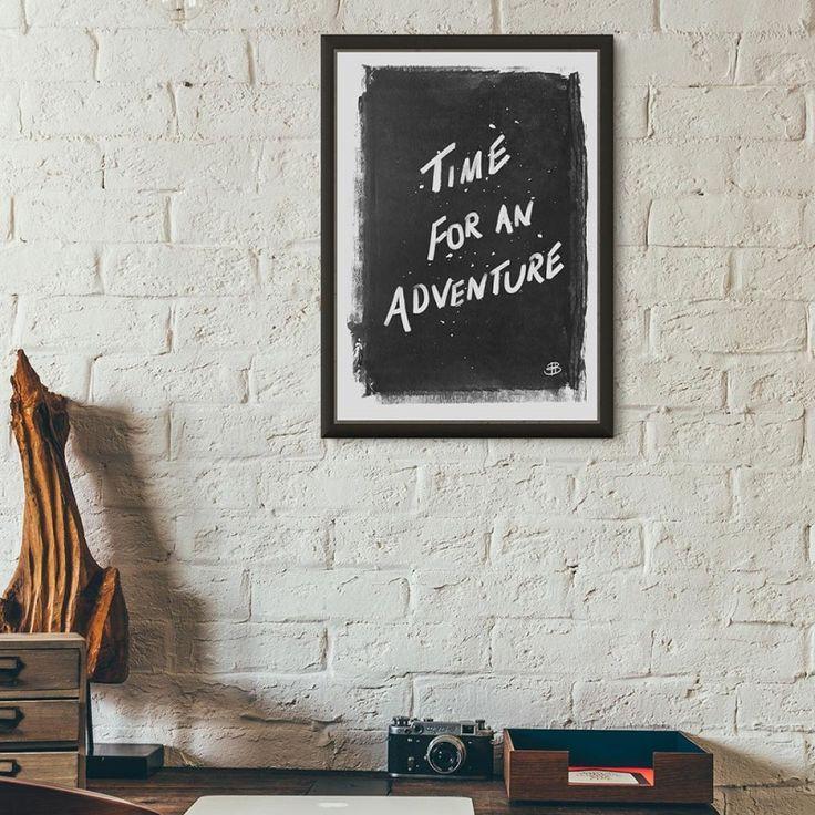 Adventures print | hardtofind.