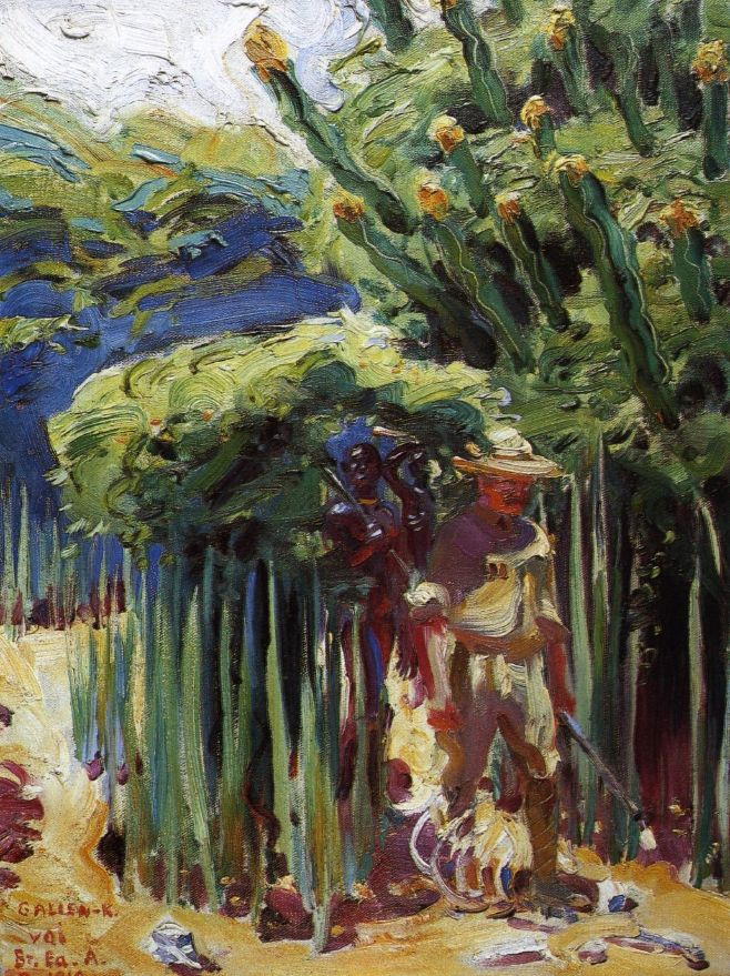 British East Africa, 1910  Akseli Gallen-Kallela