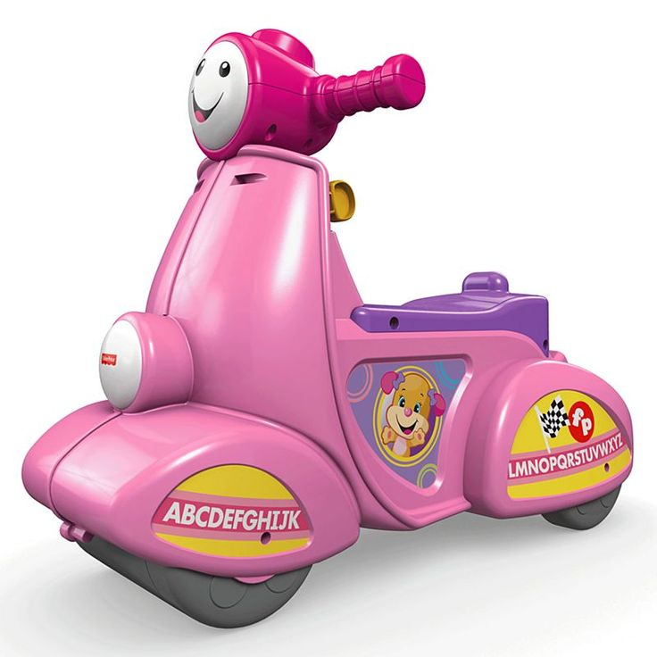 Check out the laugh learn smart stages scooter pink