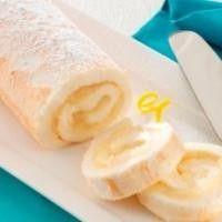 Рулет «Десерт Снежной Королевы» с лимоном